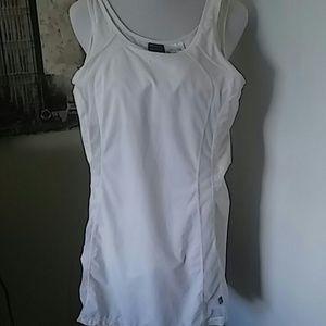 White Nike Swim dress Med